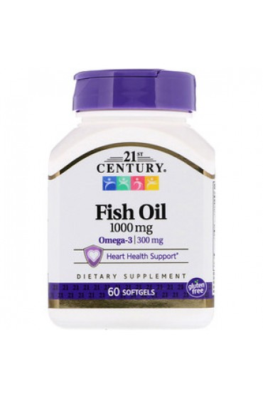 21st Century Fish Oil 60 капсул