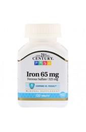 21st Century Iron 65 мг 120 таблеток В НАЛИЧИИ