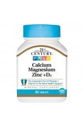 21st Century Cal Mag Zink+D3 90 таблеток