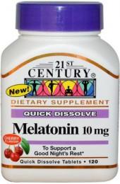21st Century Melatonin 10 mg 120 таблеток