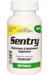 21st Century Sentry Multivitamin 200 таблеток