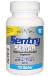 21st Century Sentry Senior Men's 50+ 100 таблеток