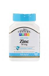 21st Century Zinс 50 мг 110 таблеток