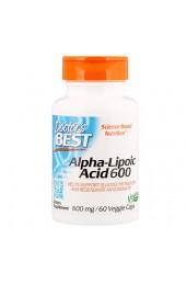 Doctor's Best ALA 600 мг 60 капсул