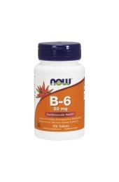 NOW B-6 50 мг 100 таблеток