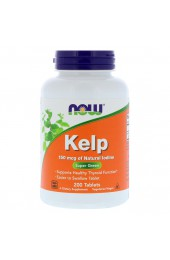 NOW Kelp 150 мкг 200 таблеток (морской йод) В НАЛИЧИИ