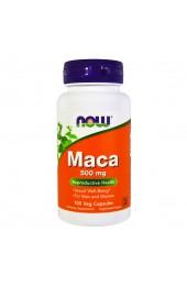 NOW Maca 500 мг 100 вегетарианских капсул