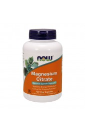 NOW Magnesium Citrate 120 капсул ПРЕДЗАКАЗ