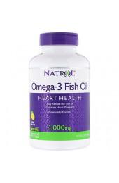 Natrol Omega-3 1000 мг со вкусом лимона 150 желатиновых капсул