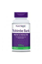 Natrol Yohimbe bark 500 мг 90 капсул