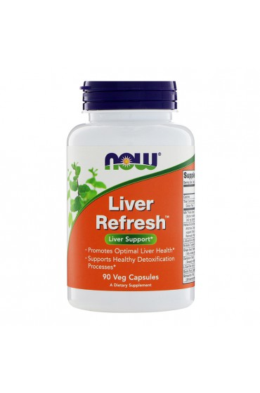 NOW Liver Refresh 90 капсул
