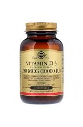 Solgar Vitamin D-3 10.000 МЕ 120 гелевых капсул