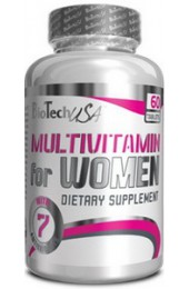BioTech Multivitamin for Woman 60 таблеток