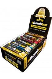 Батончик BombBar глазированный 40 г Банановый пудинг