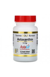 California Gold Nutrition Astaxanthin 12 мг 30 капсул СРОК ГОДНОСТИ 11.20 В НАЛИЧИИ