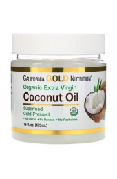California Gold Nutrition Coconut Oil Organic Extra Virgin 473 мл В НАЛИЧИИ