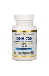 California Gold Nutrition DHA 700 30 софтгель