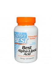 Doctor's Best Alpha Lipoic Acid 150 мг 120 капсул