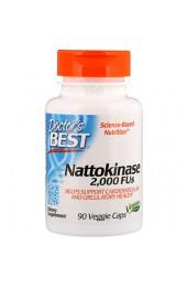 Doctor's Best Nattokinase 2000 FUs 90 вегетарианских капсул