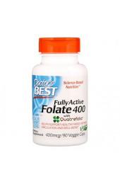 Doctor's Best Folate с Quatrefolic 400 мкг 90 вегетарианских капсул