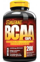 Fit Foods Mutant BCAA 400 капсул