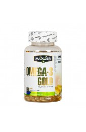MAXLER Omega 3 Gold 120 софтгель