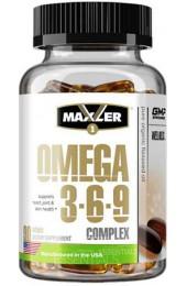 Maxler Omega-3-6-9 90 гелевых капсул