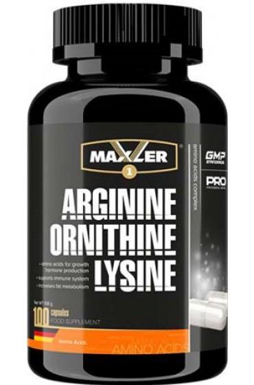 Maxler Arginine-Ornitine-Lysine 100 капсул