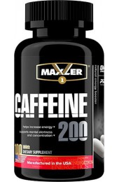 Maxler Caffeine 200 мг 100 таблеток