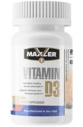 Maxler Vitamin D3 1200 МЕ 180 таблеток