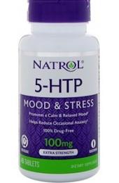Natrol 5-HTP 50 mg 45 капсул