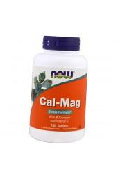 NOW Cal-Mag Stress Formula 100 таблеток ПРЕДЗАКАЗ*