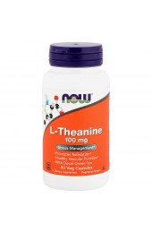 NOW L-Theanine 100 mg 90 капсул
