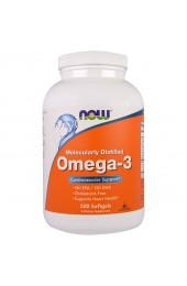 NOW Omega 3 1000 мг 500 гелевых капсул В НАЛИЧИИ