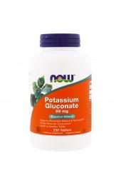 NOW Potassium Gluconate 99 mg 250 таблеток В НАЛИЧИИ