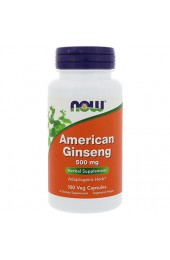 NOW American Ginseng 500 мг 100 капсул