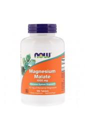 NOW Magnesium Malate 1000 мг 180 таблеток