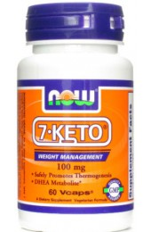 NOW 7-Keto 100 мг 60 капсул