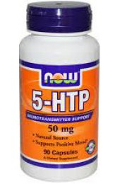 NOW 5-HTP 50 mg 30 капсул