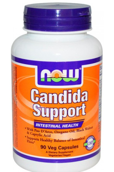 NOW Candida Support 90 капсул