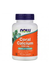 NOW Coral Calcium 100 капсул В НАЛИЧИИ