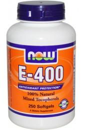 NOW E 400 DA 100 гелевых капсул