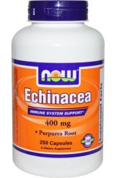 NOW Echinacea Root 400 мг 250 капсул