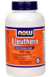 NOW Eleuthero 500 mg 250 капсул