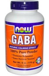 Now Gaba 100% pure powder 170 гр