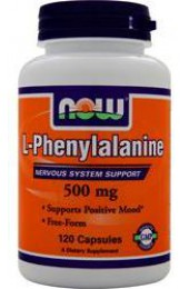 NOW L-Phenylalanine 500 мг 120 капсул