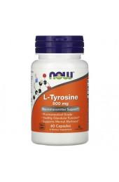 NOW L-Tyrosine 500 мг 60 капсул