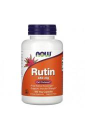 NOW Rutin 450 мг 100 вегетарианских капсул