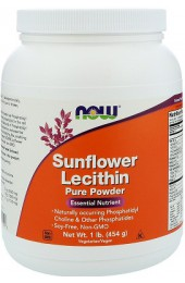 NOW Sunflower Lecithin Powder 454 гр В НАЛИЧИИ