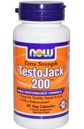 NOW Testo Jack 200 60 капсул